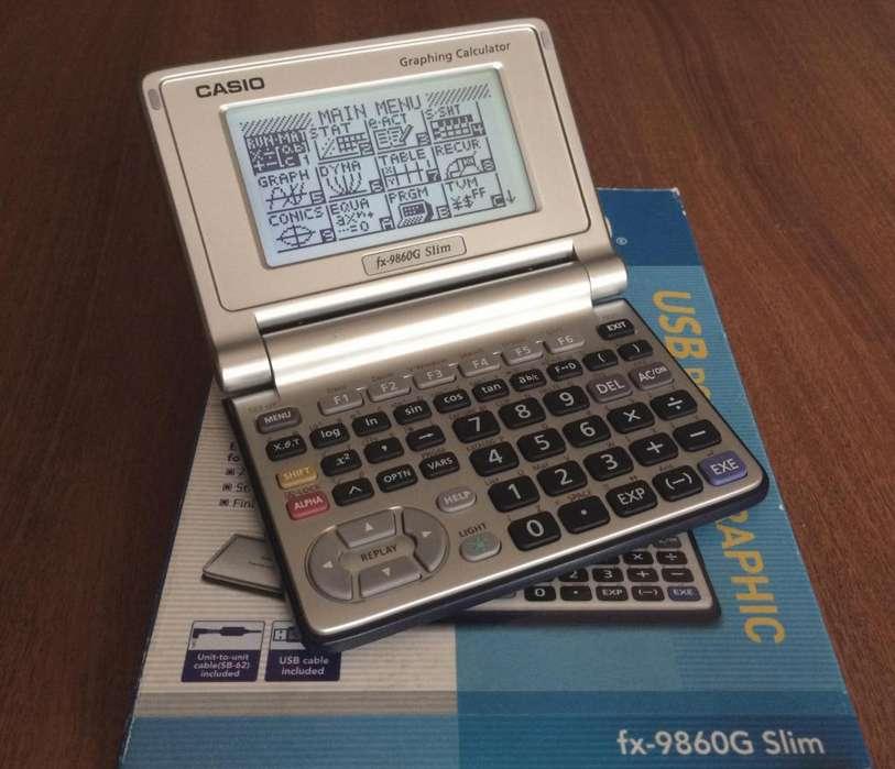 Vendo Calculadora Cientifica Casio fx-9860G Slim