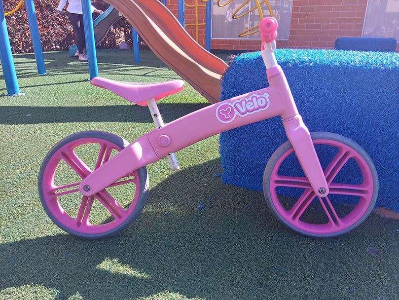 Bicicleta de equilibrio para niña