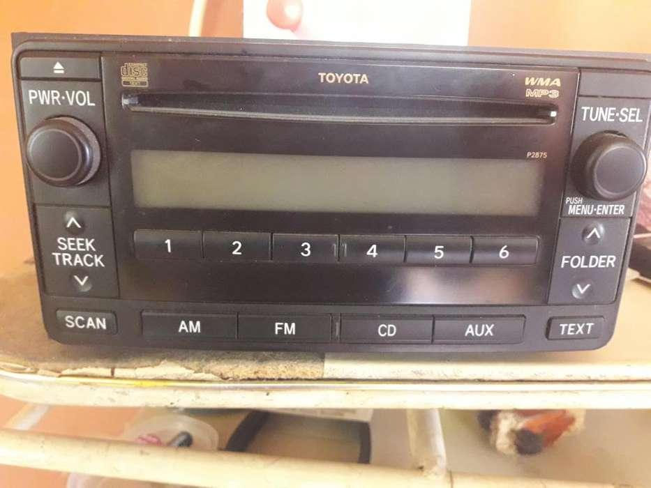 radio toyota land cruisser original