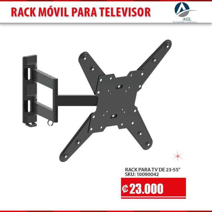 RACK MOVIL PARA TV