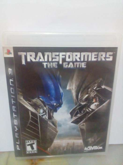 Transformers the game Play Station 3 PS3 Juegos Insertcoin