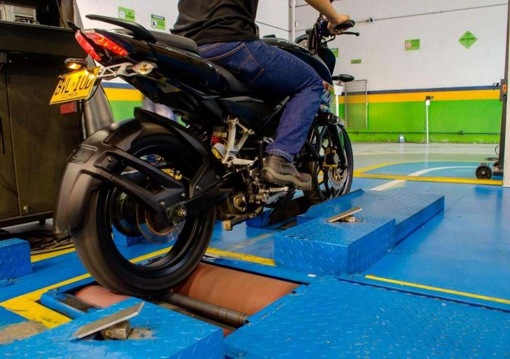revisión tecnomecanica para motocicletas