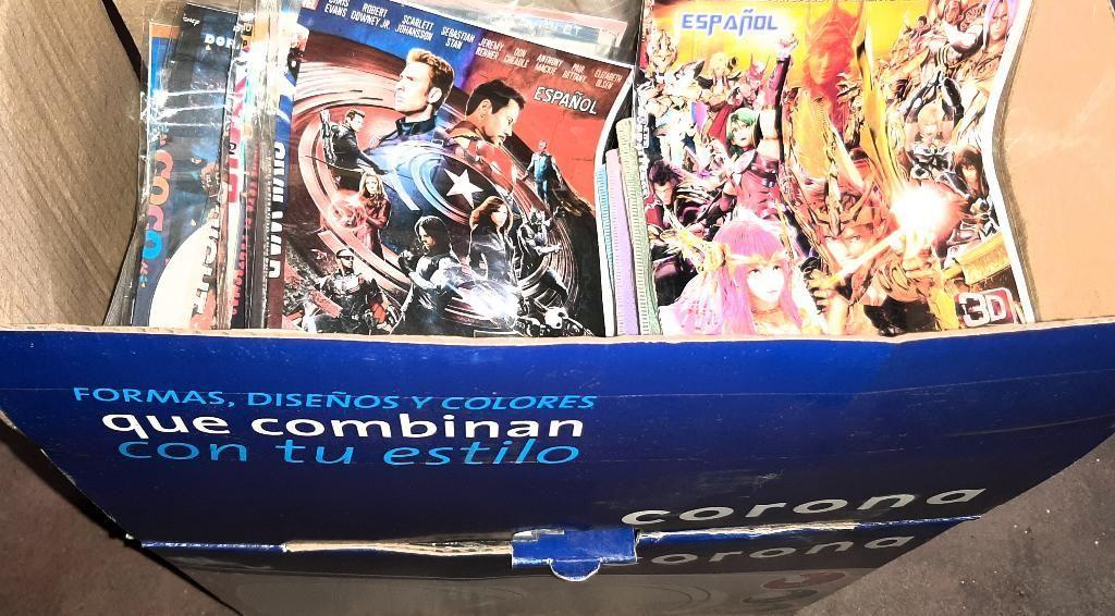 Caja de 230 Cd,dvd,juegos de Consola