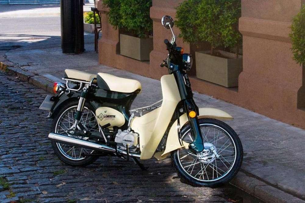 Moto Motomel Go Vintage 125 0km Scooter Retro