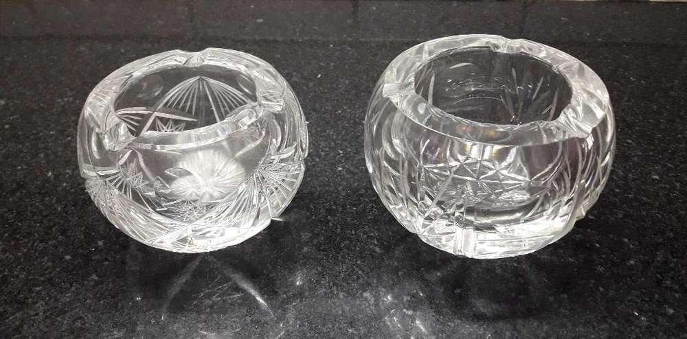 Cenicero Vidrio Tallado. Diferentes Mode