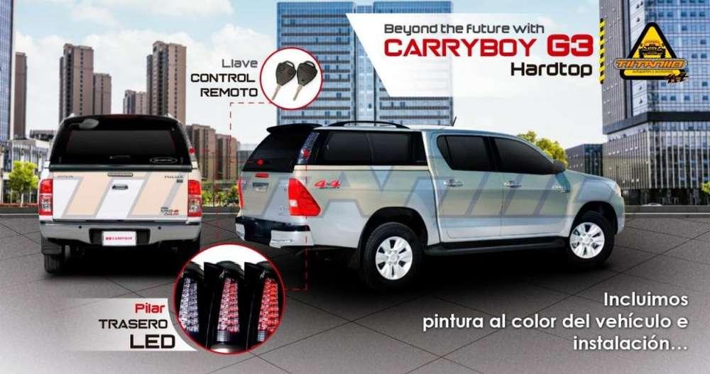 Caseta Carryboy G3 faros Led Dmax hilux Revo