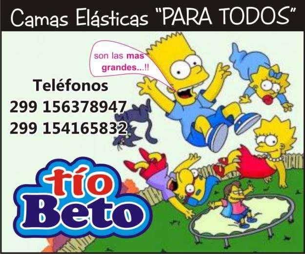 CAMAS ELASTICAS TioBeto