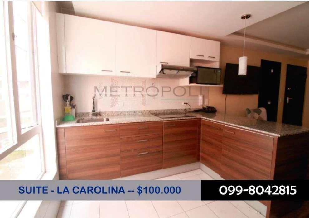 Oportunidad, Venta Suite Amoblada, República Salvador