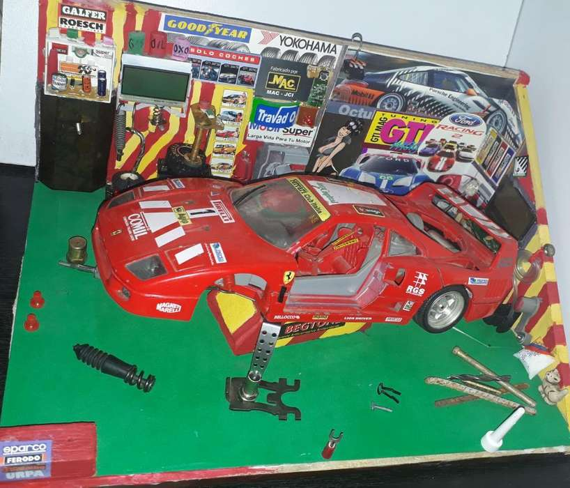 Venpermuto Diorama Taller Ferrari