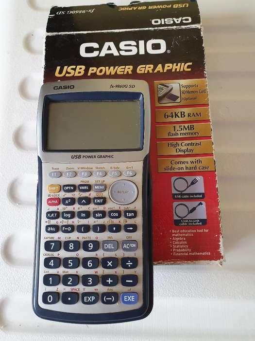 Calculadora Graficadora Casio Fx9860g Sd
