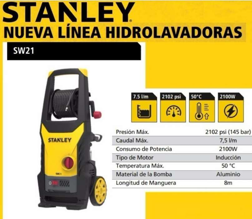 <strong>hidrolavadora</strong> Stanley Sw21