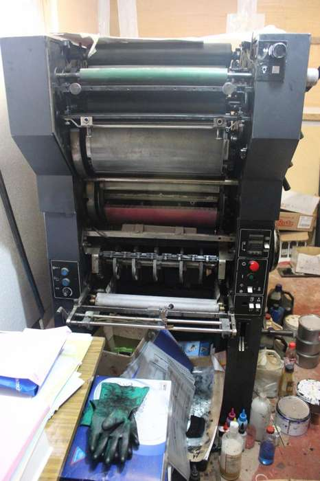 En Venta Maquina OFFSET Modelo :DUALITH 702 DAVIDSON