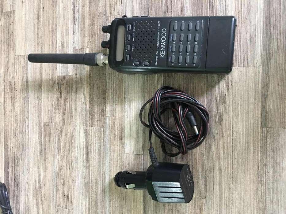 Radio de comunicación 2 Metros Keenwood Th22at