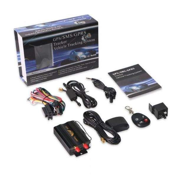 Gps Tracker Gps Tk 103 B Rastreo Satelital Vehicular Vía SMS Negro
