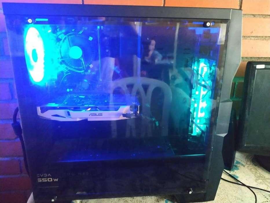 Torre Gamer,Diseño i3 8100 // GTX 1060 3GB Dual Fan Asus OC Edition