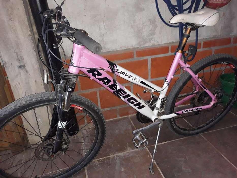 Bicicleta Mtb Raleing Dama.