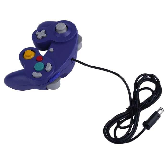 Control Gamecube Nuevos Para Gc/wii/switch Joystick Vibrador