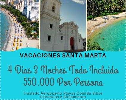 Vacaiones Santa Marta Colombia Todo Incluido