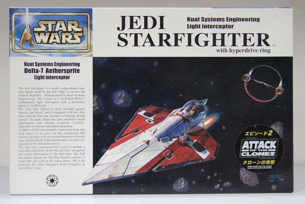 FineMolds Jedi Starfighter de ObiWan Kenobi 1/72