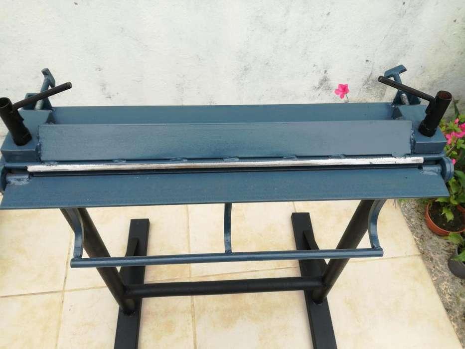 Plegadora de chapa manual a 11000 pesos