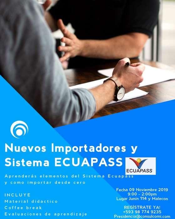 Seminario Nuevos Importadores Y Ecuapass