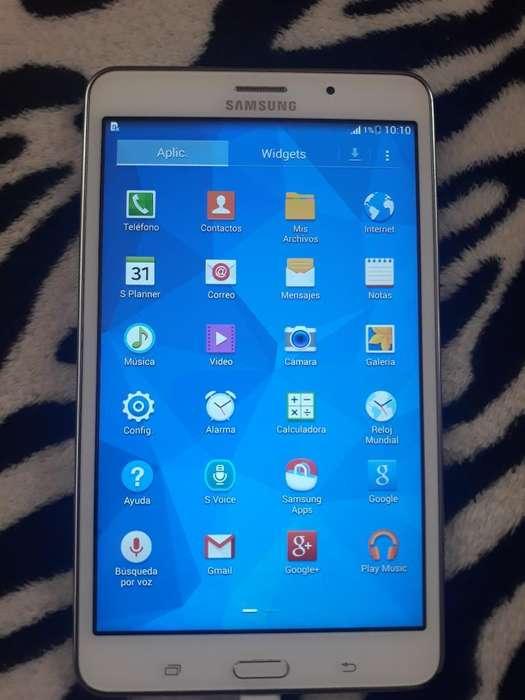 Samsung Tab 4 con Chip