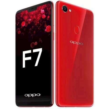 Celular Oppo F7 128gb Rojo