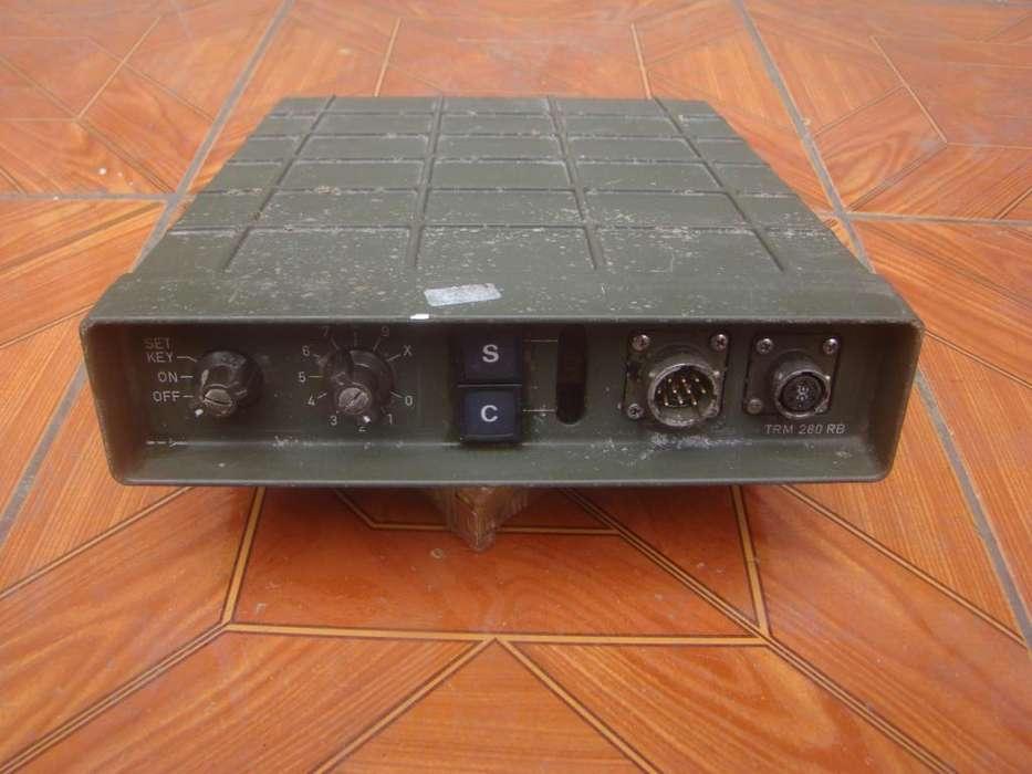 ANTIGUO RADIO MILITAR TRM 280 RB