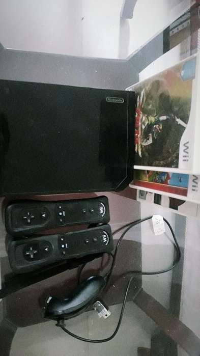 Nintendo Wii Negracontroles4juegos