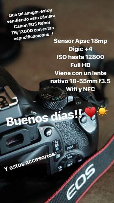 Canon EOS 1300D T6