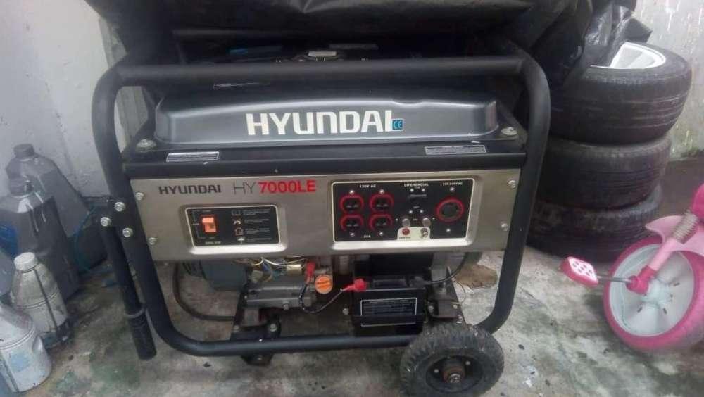 Generador Electrico Hyundai HY7000LE