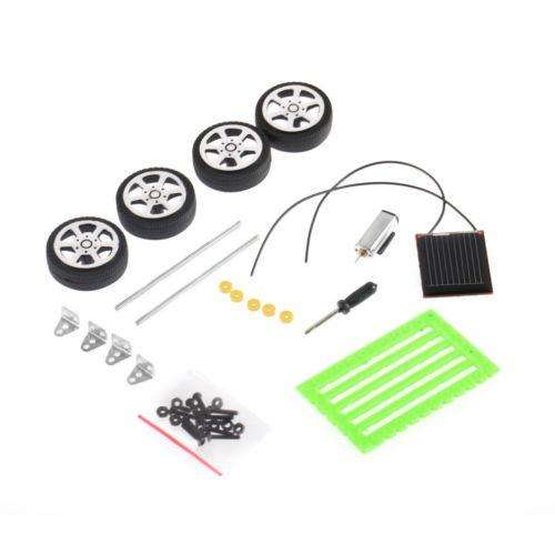 OFERTA Mini Toy Solar hazlo tú mismo rompecabezas de CI Gadget Coche Niños Educativos Hobby robot M2