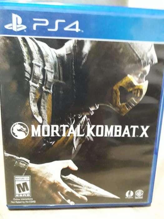 Mortal Kombat X Ps4 (fisico)
