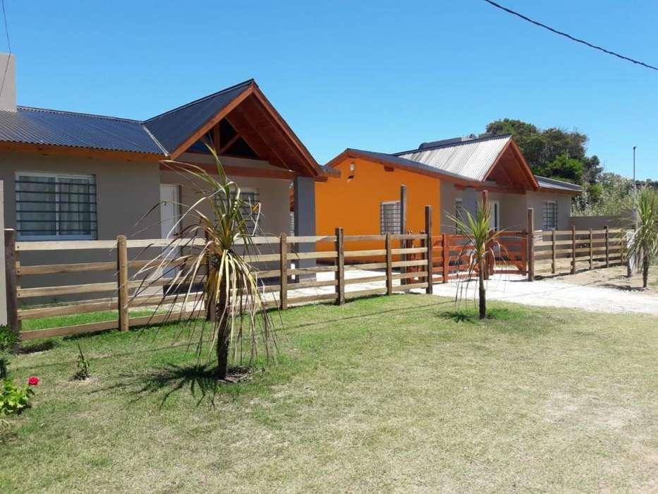 du38 - Cabaña para 2 a 6 personas con cochera en San Clemente Del Tuyú
