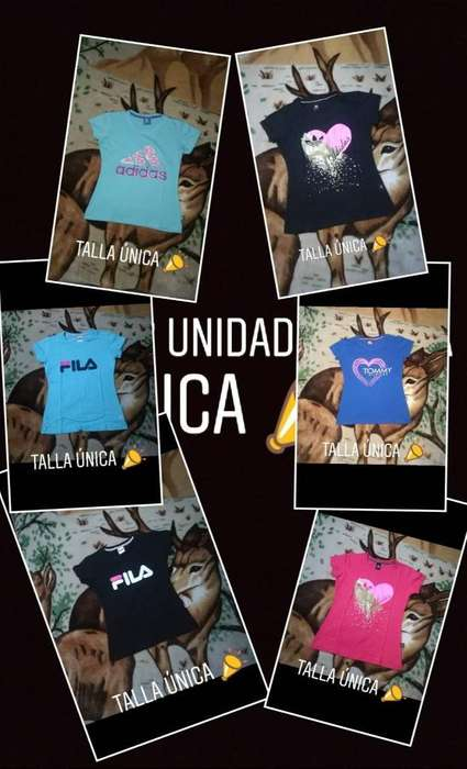 Camisetas para Niña