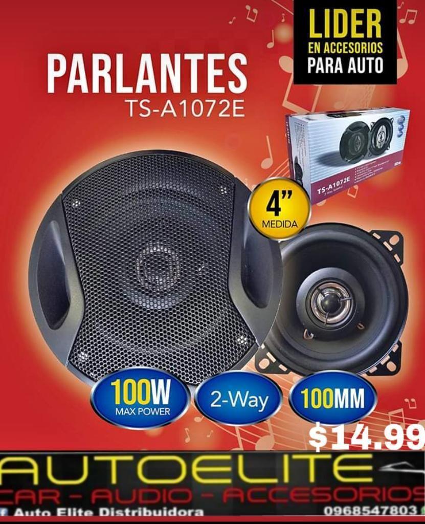 Parlantes 4 5 6 Plg a Tan Solo 14.99 New