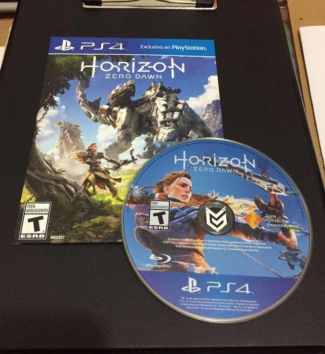 Horizon Zero Dawn Play 4