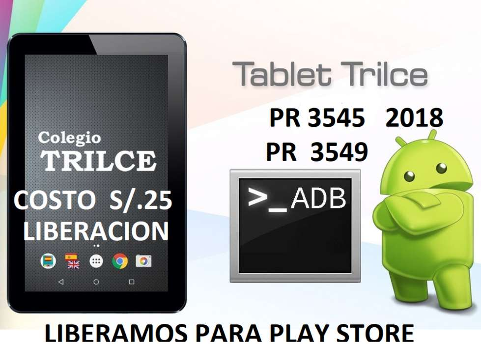 tactil tablet trilce