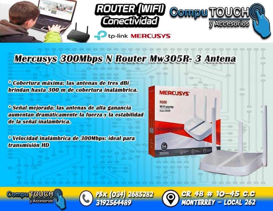 ROUTER MERCUSYS DE 3 ANTENAS