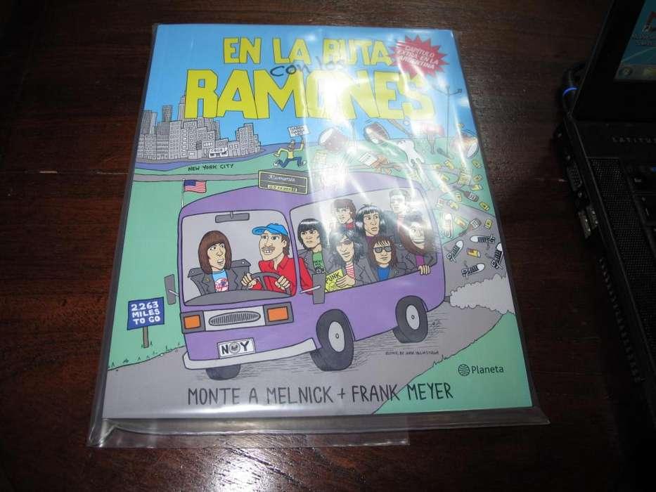 En la ruta con los Ramones - Libro editorial planeta ARG