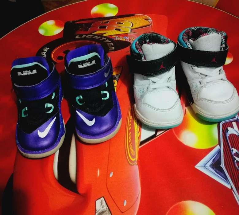 Zapatillas Jordan Y Nike Niño