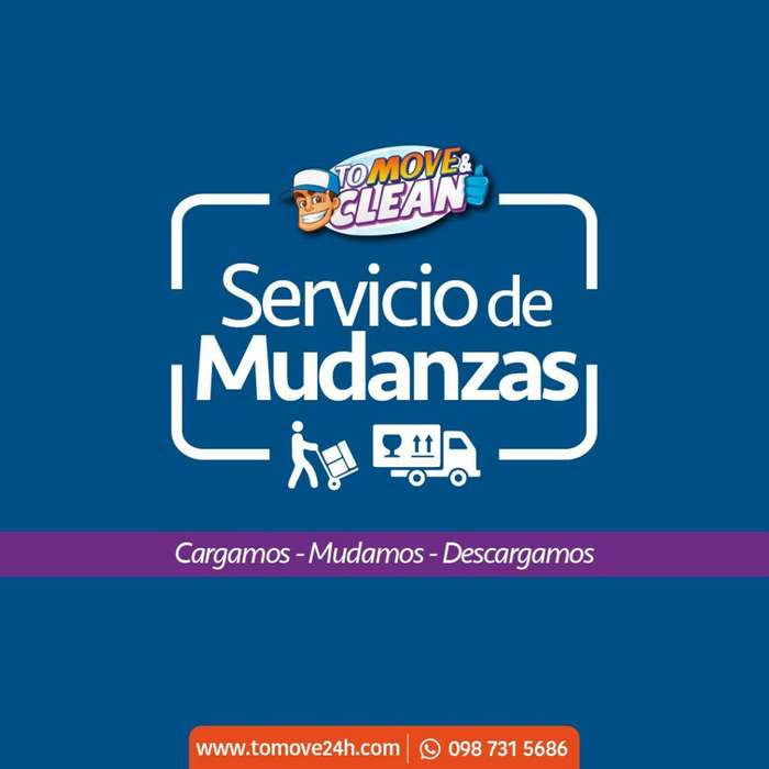 Servicio de Mudanzas / Mudanza / Cambio de Casa / Limpieza / Casas / Oficinas