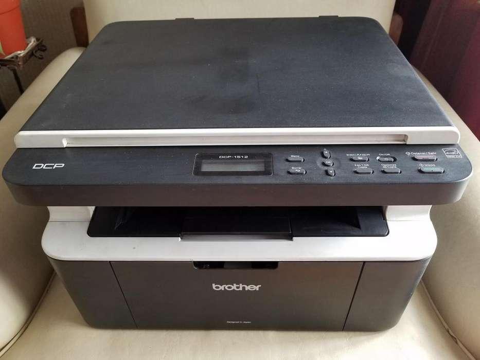 Vendo Impresora Multifuncion Brother Dcp1512