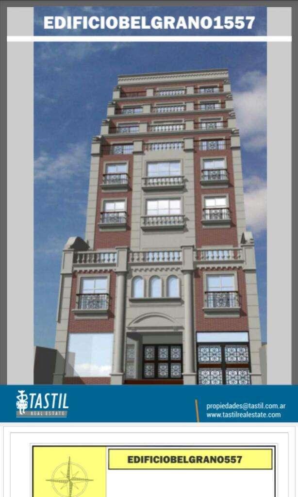 2 Dormitorios. Edificio Belgrano 1557.