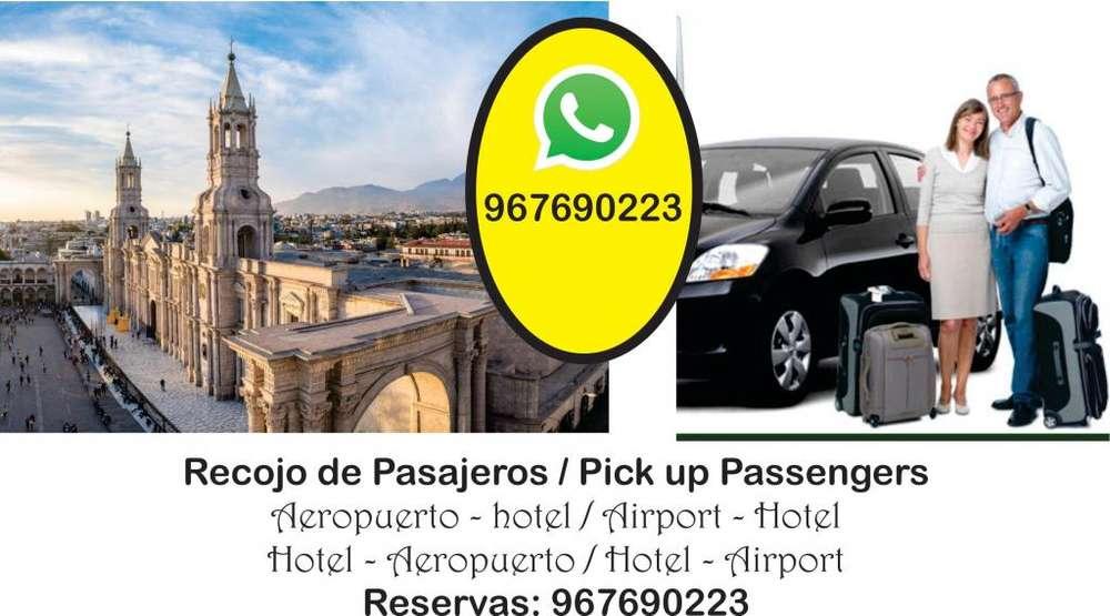servicio de transporte sector empresarial, turismo