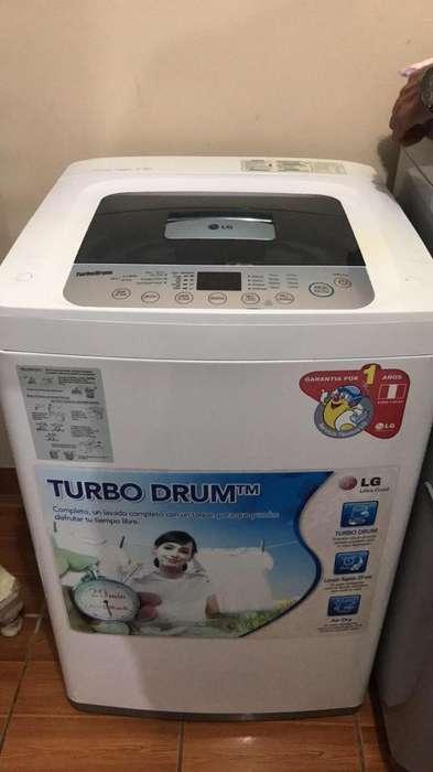 Lavadora Lg Fuzzy Logic 7.5Kg Turbo Drum