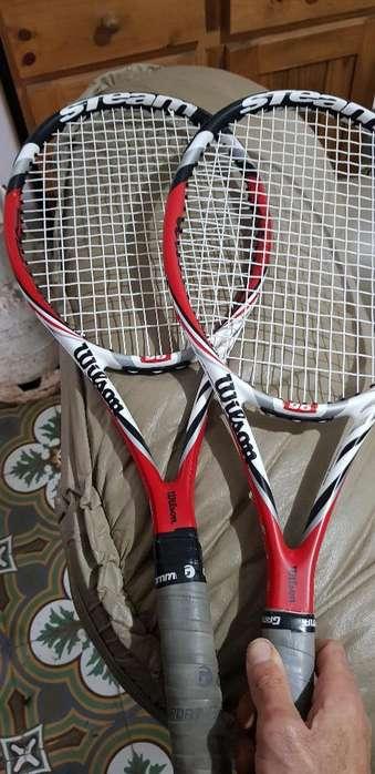 Raquetas Wilson Como Nuevas
