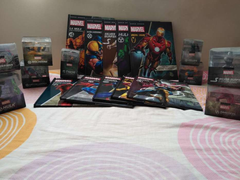 Oferta! Espectacular Colección de Marvel