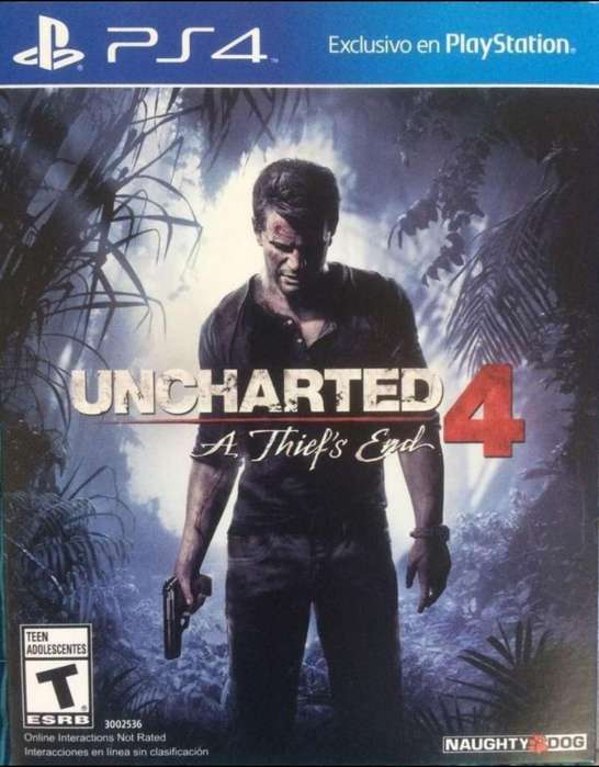 Vendo O Cambio Uncharted 4 - Negociable