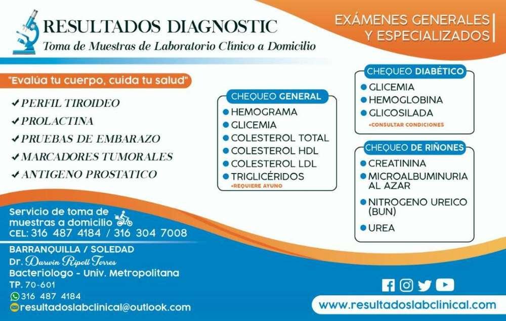 Examenes de Laboratorio Clinico!!!